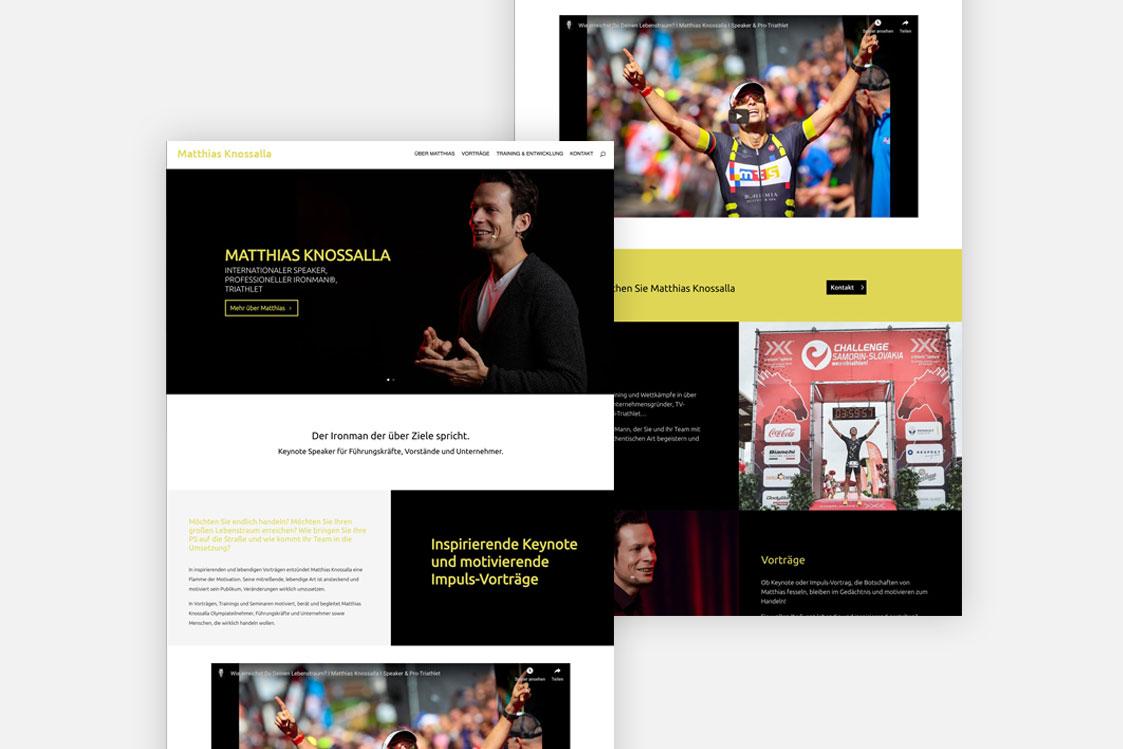 Matthias Knossalla Website