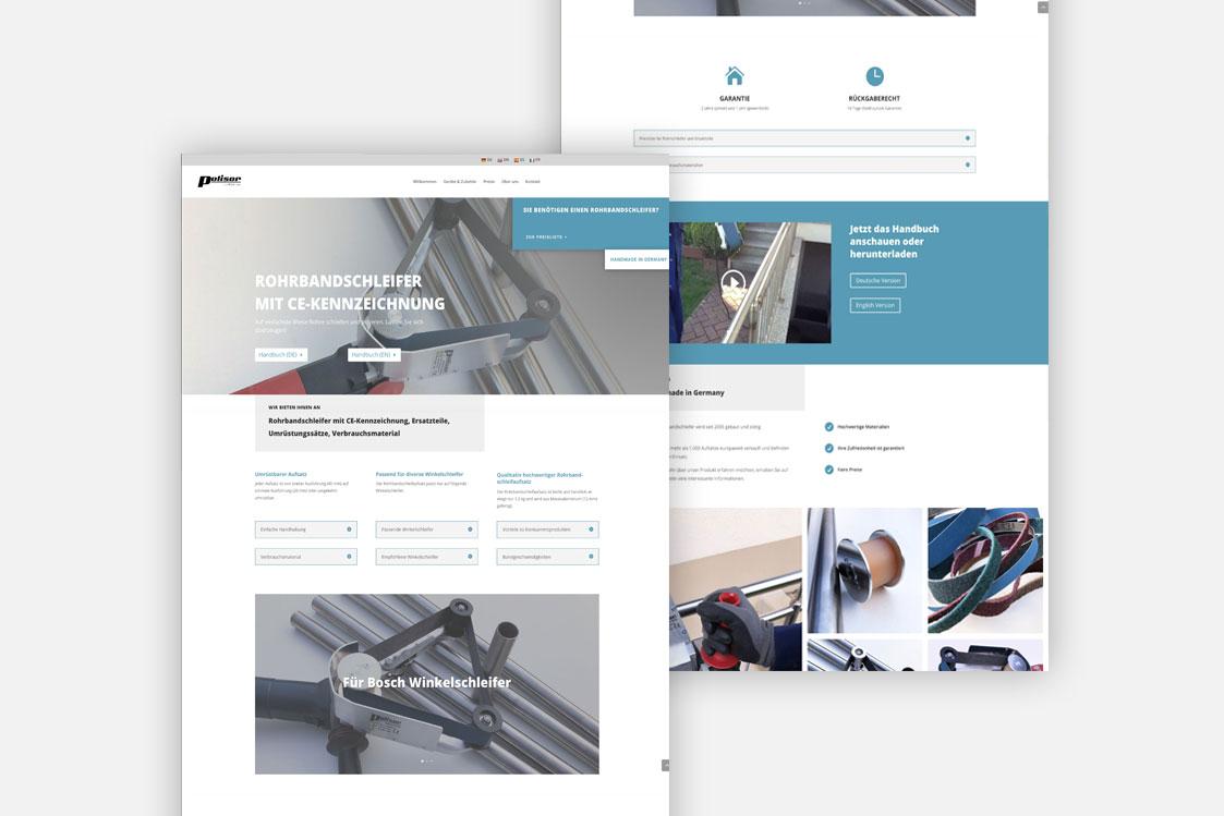 Polisor Website