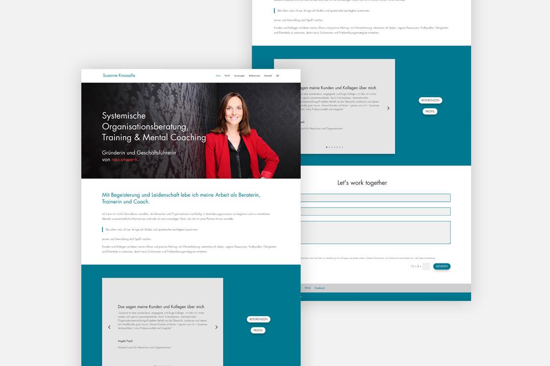 Susanne Knossalla Website