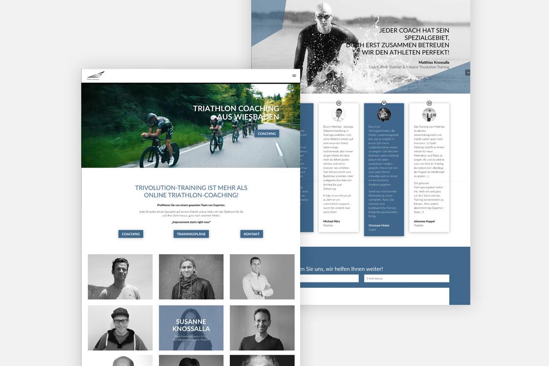 Trivolution-Training Website