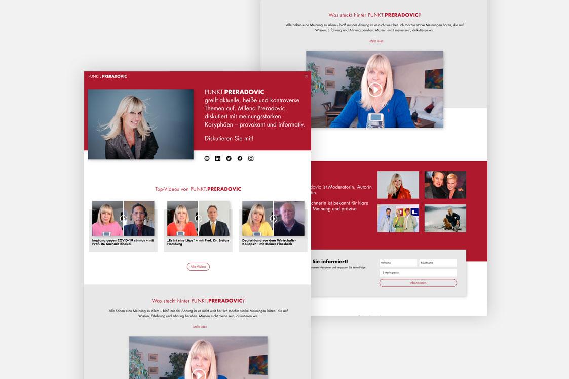 Punkt Preradovic Webseite