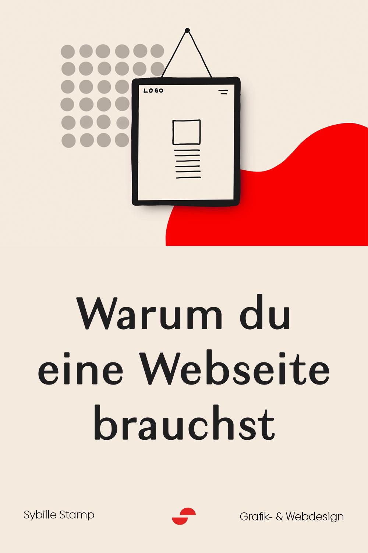 Warum du eine Webseite brauchst