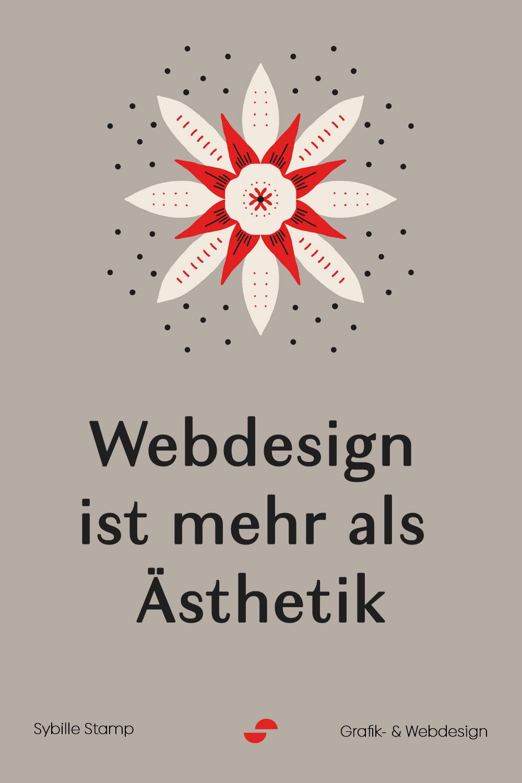 Webdesign ist mehr als Aesthetik