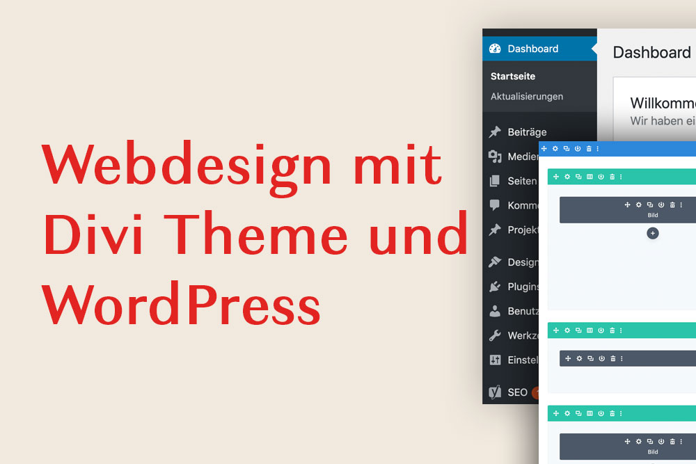 Webdesign mit Divi Theme und WordPress